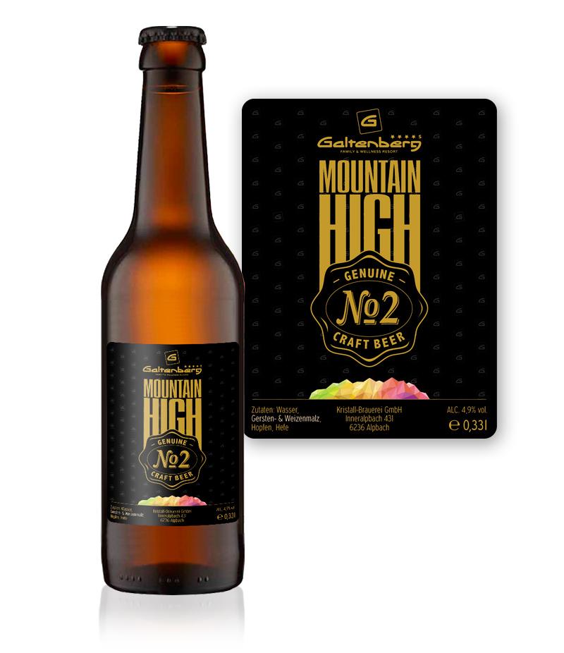 Etikett Craft Bier